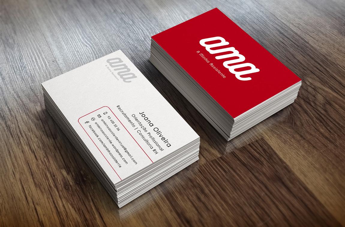 AMA - A Minha Assistente - Cartão de Visita