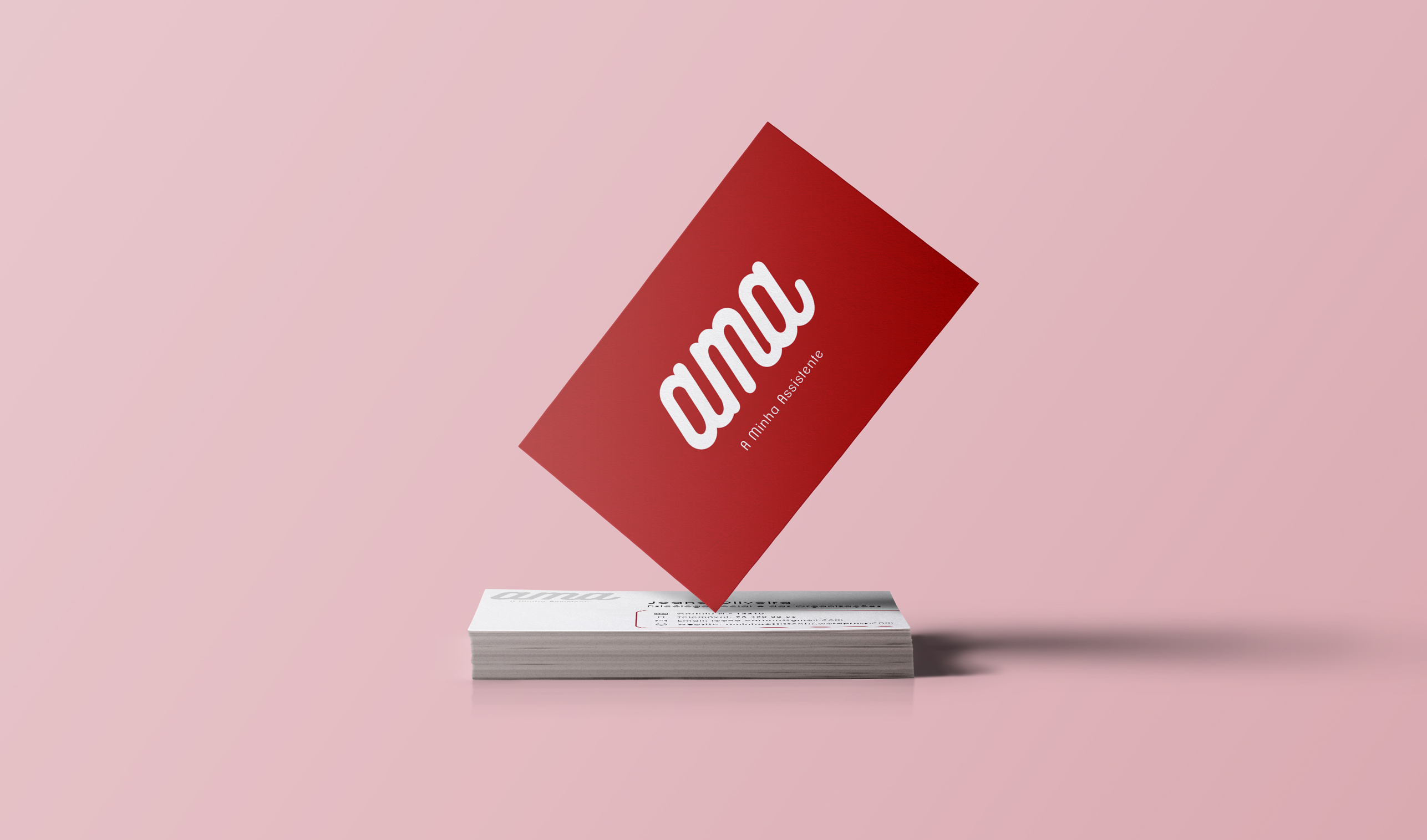 AMA - A Minha Assistente - Cartão de Visita 1