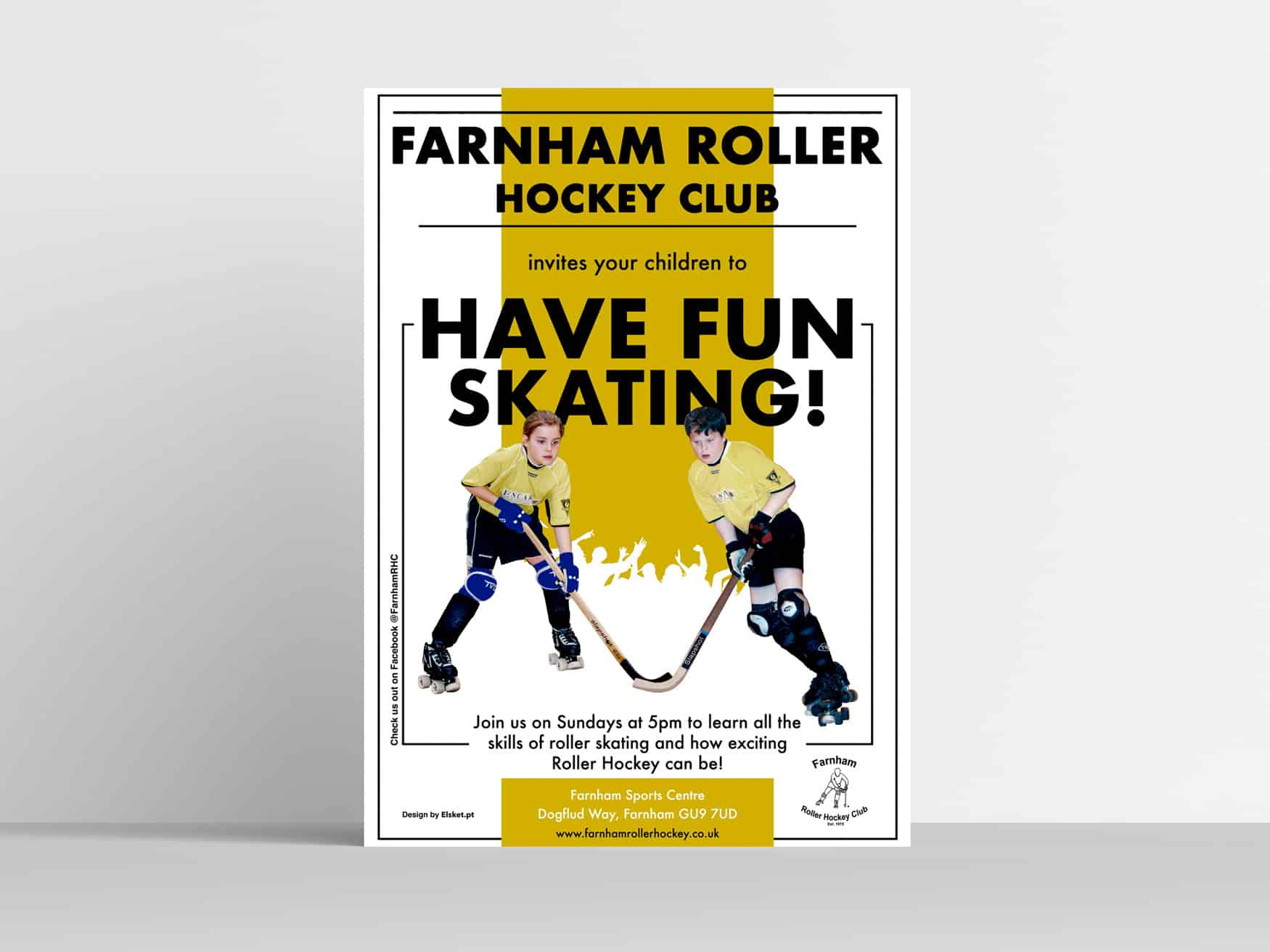 Elsket-Farnham-Hockey-Club-Poster