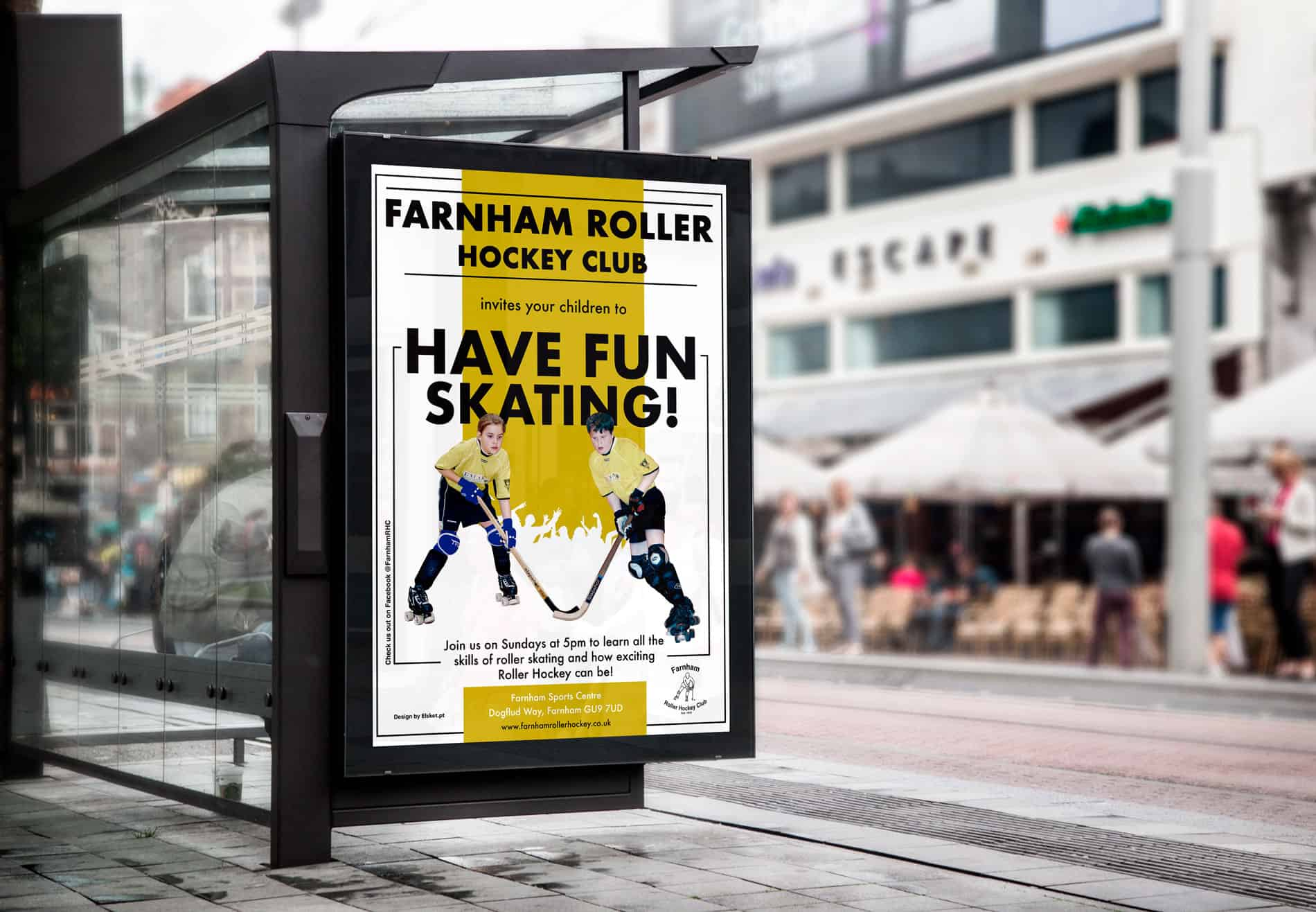 Farnham-Hockey-Club-Bus-Stop-Billboard